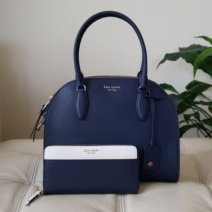 Kate Spade Reiley LG Dome Satchel & Wallet
